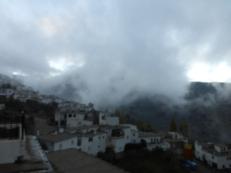 Precioso amanecer en Mecina Bombarón