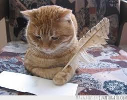 gato-escribiendo
