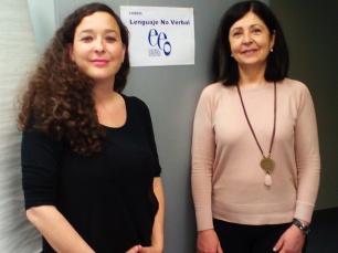 Inmaculada Asensio y Teresa Baró
