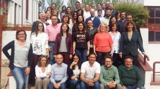Foto de grupo (alumnado de diferentes cursos)