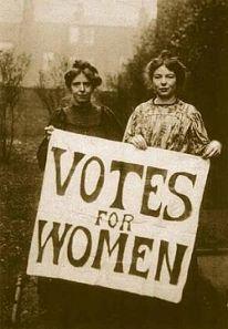 Sufragistas inglesas, 1917. https://goo.gl/seqYsi