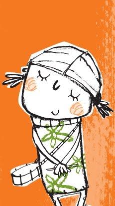 niña ilustración